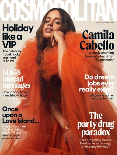 Millie Mackintosh on the cover Cosmopolitan magazine February 2016, Hearst magazine subscriptions