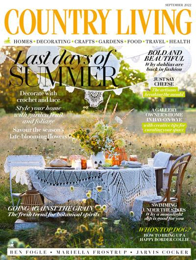 Country Living magazine cover February 2016, Hearst magazine subscriptions