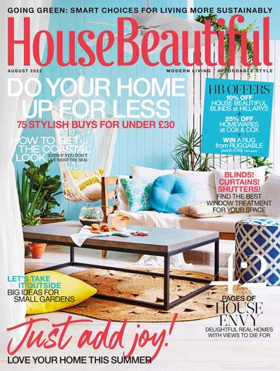 House Beautiful magazine cover February 2016, Hearst magazine subscriptions