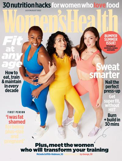 Women's Health Back Issues