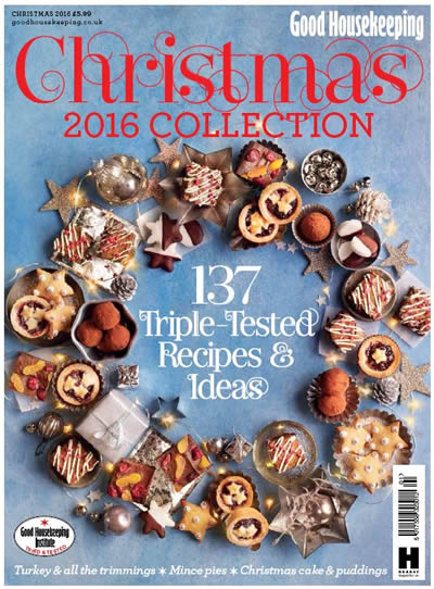 Good Housekeeping Christmas 2016 Collection cook book